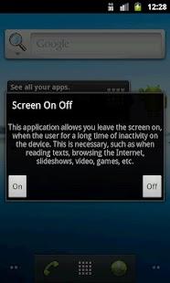 Screen On Off- screenshot thumbnail