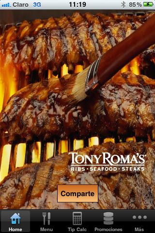 Tony Roma´s Guatemala- screenshot