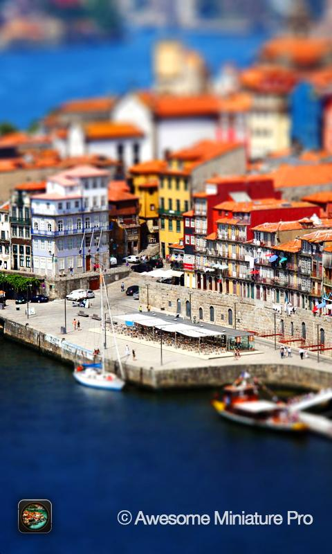 Awesome Miniature - Tilt Shift- screenshot