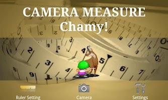 Screenshot of CAMERA MEASURE Chamy!