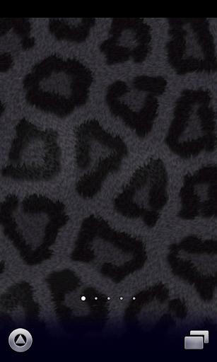 黑色豹纹墙纸