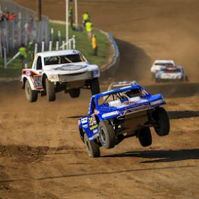 Big Air by Kenton Knutson - Sports & Fitness Motorsports ( trucks, pro lite, racing, offroad, off road, dirt, jump,  )
