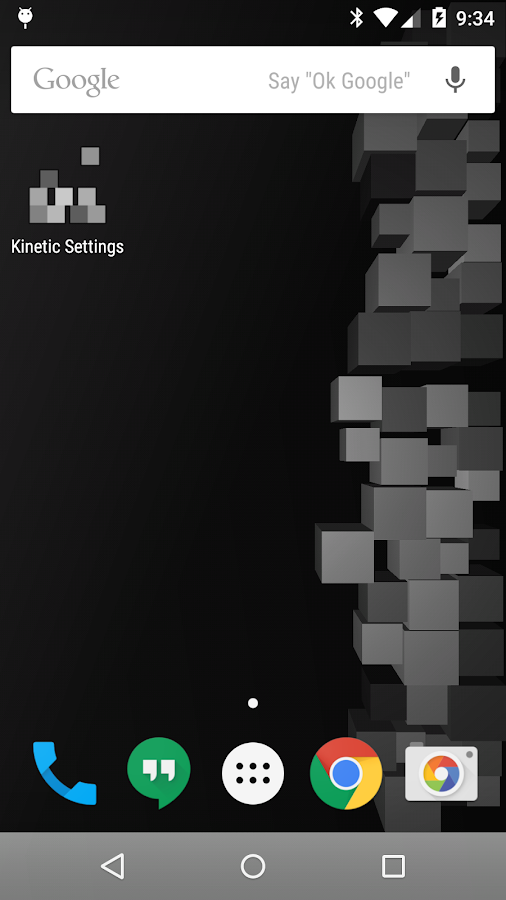 Kinetic Live Wallpaper Lite - screenshot