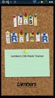 Screenshot of Lambers CIA Flash Trainer