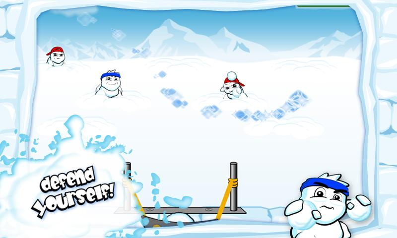 SnowBomber Lite - screenshot