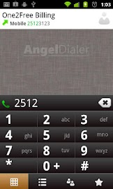 Angel Dialer (Free) Screenshot 1