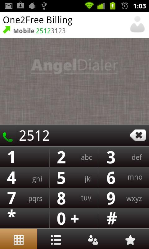 Angel Dialer (Free) - screenshot