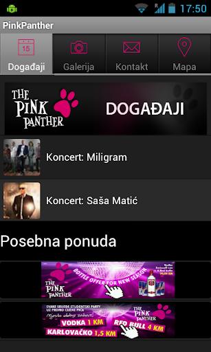 "Noćni klub ""The Pink Panther"""