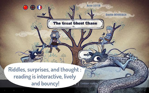 The great Ghost Chase