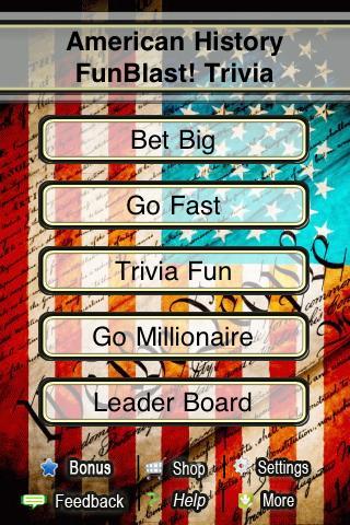 History FunBlast! Trivia Quiz- screenshot