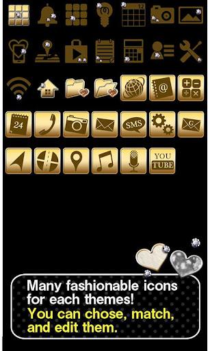 Chic Theme FUR HEART -BLACK- 2.0.0 Windows u7528 4