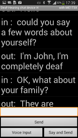 Deaf - Hearing Chat (DH Chat) Screenshot