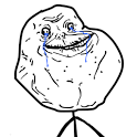 Forever Alone SMS Widget icon