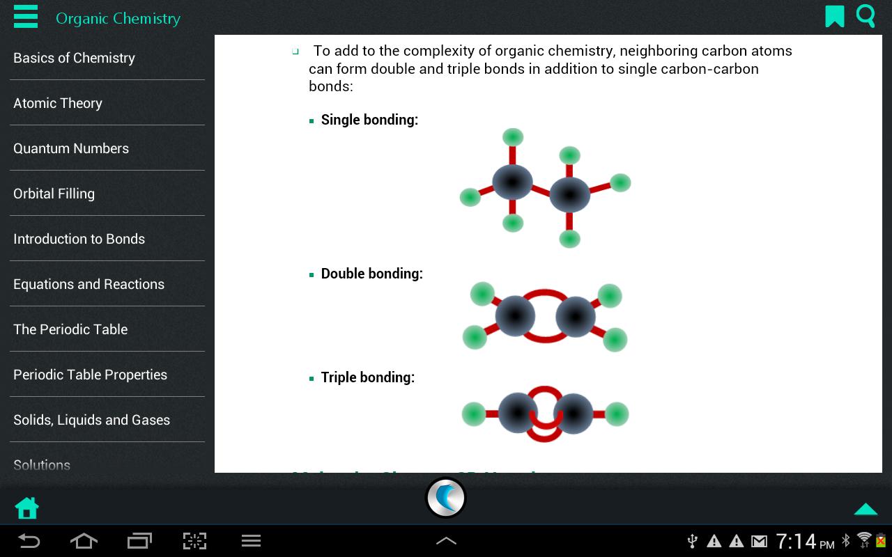 Chemistry by WAGmob - screenshot