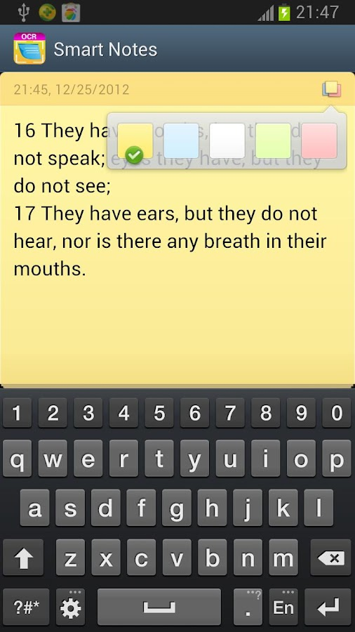 Smart Notes - OCR Free - screenshot
