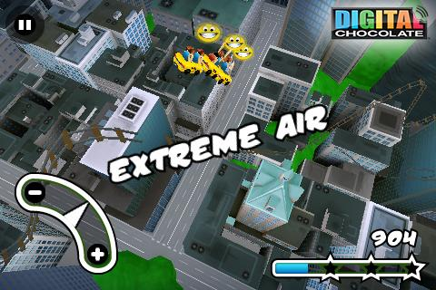 3D Rollercoaster Rush New York- screenshot