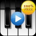 Piano sound to sleep icon