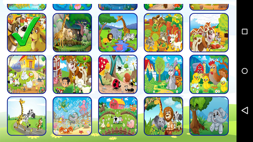 Animal Cartoon Puzzle 1.8 screenshots 2