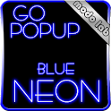 Blue Neon GO Popup theme icon