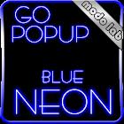 Blue Neon GO Popup theme icon