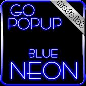 Blue Neon GO Popup theme