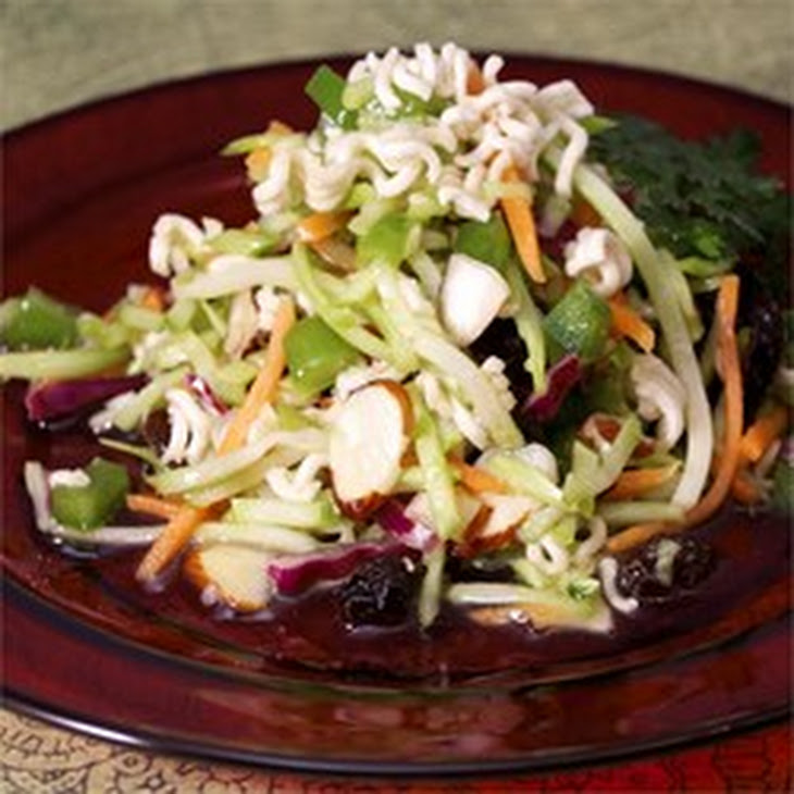 Easy Broccoli Slaw Salad Recipe