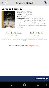 TextbookRush – Sell books screenshot 2