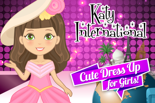 Katy Fashion Dress Up Doll
