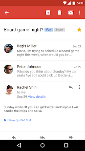 Gmail Screenshot 3