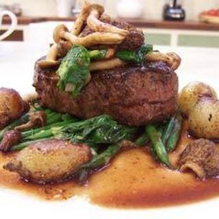 Fillet Steak With Wild Mushrooms