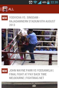 Muay Thai Videos - screenshot thumbnail