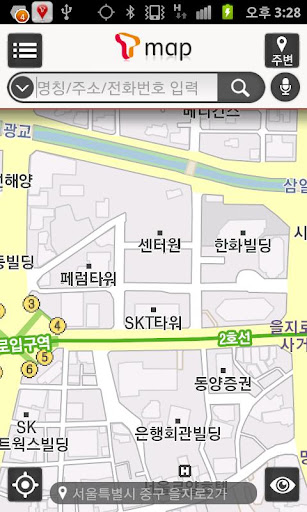T map for KT LGU+ 핸들
