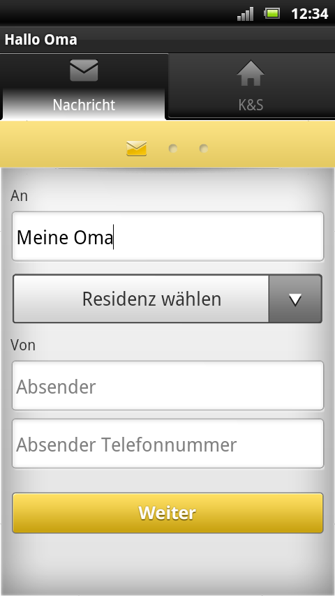 Hallo Oma- screenshot