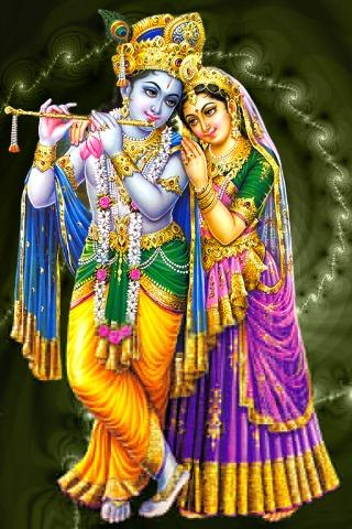 Radha Krishna Live Wallpaper- screenshot