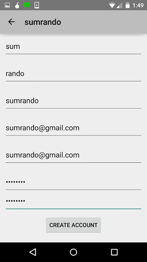SumRando VPN- screenshot