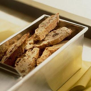 Pistachio-Fig Biscotti