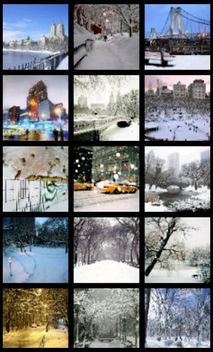 New York City Snow Wallpaper