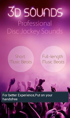 3D Sounds - screenshot