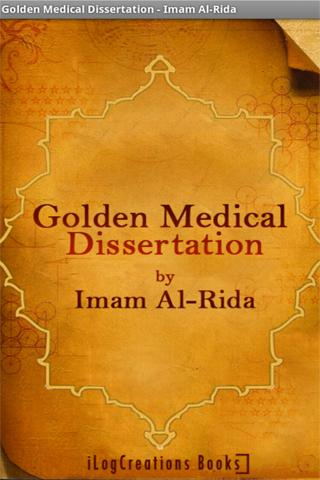 Golden Medical Dissertation