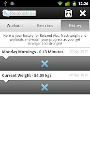Relaxed Abs - Ab Workout Timer - screenshot thumbnail