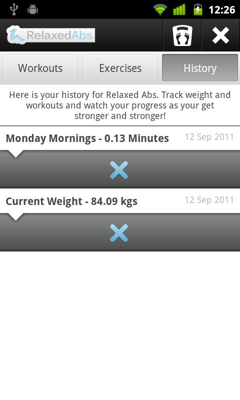 Relaxed Abs - Ab Workout Timer - screenshot