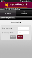 Screenshot of PNB mBanking
