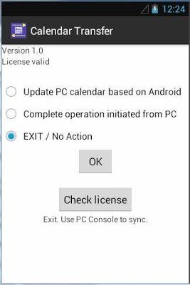 Outlook Calendar Transfer Full - screenshot