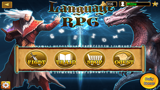 Learn Language Game RPG