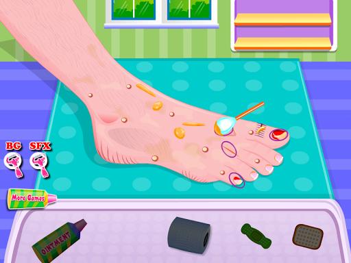 玩免費休閒APP|下載足部护理女孩的游戏 app不用錢|硬是要APP