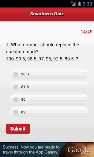 【免費解謎App】Smartness IQ Test-APP點子
