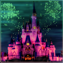 Disneyland At Night wallpaper icon