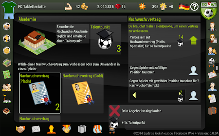 Kick it out! Soccer Manager 8.0.5 screenshot 648618