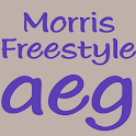Morris Freestyle FlipFont icon