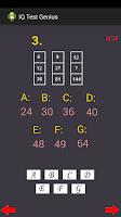 Screenshot of IQ Test Genius (Very Accurate)